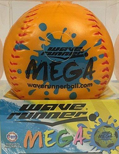 Wave Runner Sport Ball, Baseball- Orange B01HF4JK0Y