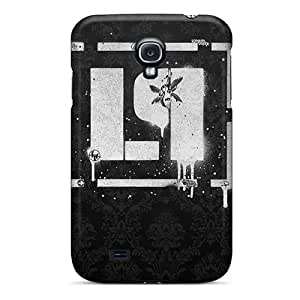 Bumper Hard Cell-phone Case For Samsung Galaxy S4 With Support Your Personal Customized Lifelike Linkin Park Pattern Marycase88