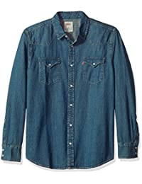 Men's Standard Barstow Denim Western Snap-Up Shirt