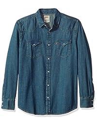 Levi's Mens Men's Standard Barstow Denim Western Snap-up Shirt