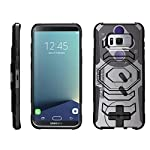 TurtleArmor | Compatible with Samsung Galaxy S8+ Case | S8 Plus Case | G955 [Octo Guard] Dual Layer Case Holster Belt Clip Sturdy Kickstand Cover - 11