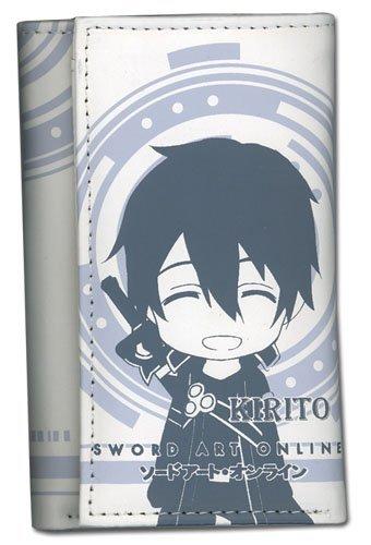 Great Eastern Entertainment Sword Art Online SD Kirito Keyholder Wallet (Online Sword Case Art Wallet)