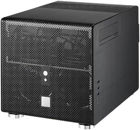 Lian Li PC-V353B Carcasa de Ordenador Escritorio Negro - Caja de Ordenador (Escritorio, PC, Aluminio, Negro, Micro ATX,Mini-ITX, Hogar/Oficina): Amazon.es: Informática