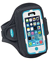 Armband for Galaxy S3, S4 with OtterBox; Also fits iPhone 5/5s/5c/SE with OtterBox Defender – Great for Running, Jogging, Sports & Workouts – for Men & Women [Black]