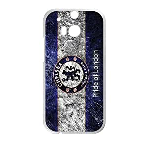 Chelsea team logo series For HTC One M8 Csaes phone Case THQ140397