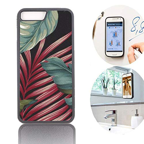 Banana Leaves Flowers N Tropical-Customized Case Apple iPhone 7/8 Plus-Anti  Gravity Phone Case Magical Nano Can Stick to Glass, Whiteboards, Tile