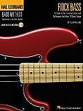 Hal Leonard Bass Method Rock Bass Sean Malone Bgtr Book/Cd