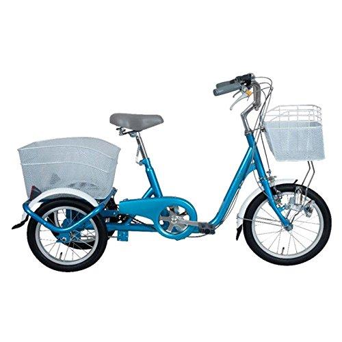 ミムゴ(MIMUGO) スイングチャーリー ロータイプ 三輪自転車(ブルー) MG-TRE16-BL ブルー B00C54A9S2