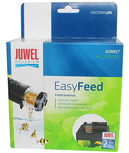 JUWEL Automatic Electronic Fish Shrimp Feeder for flake, pellet and tablet food (battery operated) by Juwel