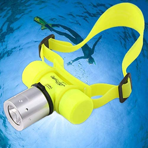 Lychee Diving Flashlight Bright Underwater Waterproof Flashlight////LED Flashlight//for Diving Outdoor Sports Night Maintenance 300 lm Hiking Camping Night Fishing