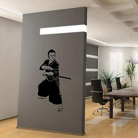 pegatina de pared Kendo Sticker Samurai Decal Japan Ninja ...