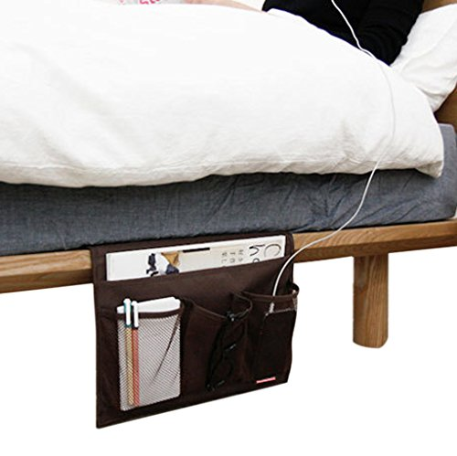 ... Book Remote IPad Cell Phone Magazine Tidy Hanging Bedside Caddy Sofa  Couch Armchair Tray Table Cabinet Storage Organizer Pocket Bag For Dorm Room  Desk Part 33