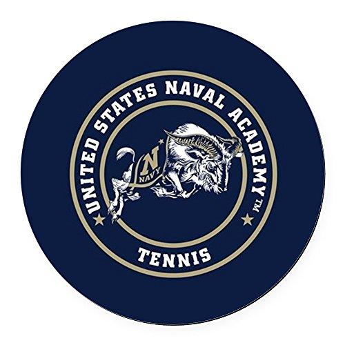 Car Naval Academy - CafePress - US Naval Academy Tennis - Round Car Magnet, Magnetic Bumper Sticker