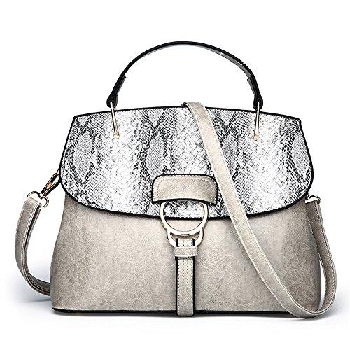 Moda Alla Grigio Spalla Couture Nuova Moda Meaeo Borsa 8PappR