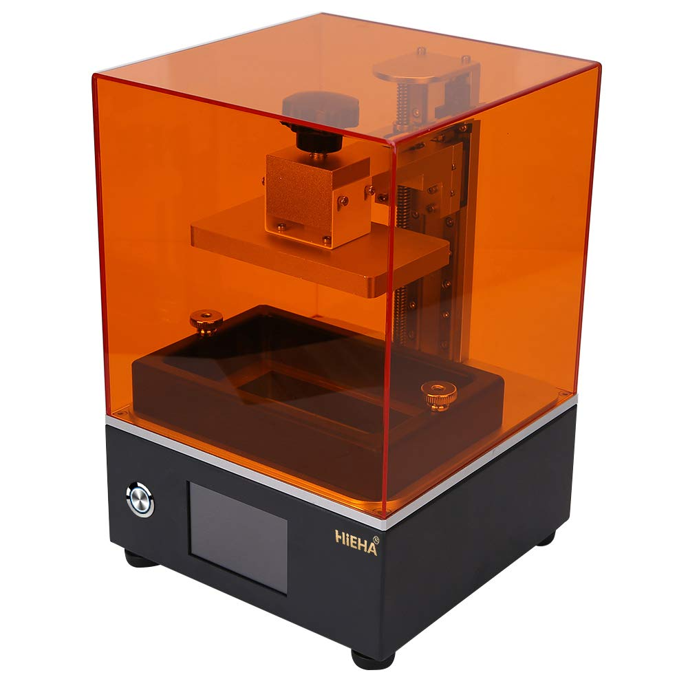 Image of 3D Printers Hieha SQ1 UV Photocuring LCD 3D Printer with Resume Printing Aauto-Leveling 3.5'' Smart Touch Screen Off-line Print 4.53''(L) x2.56''(W) x3.94''(H) Printing Size