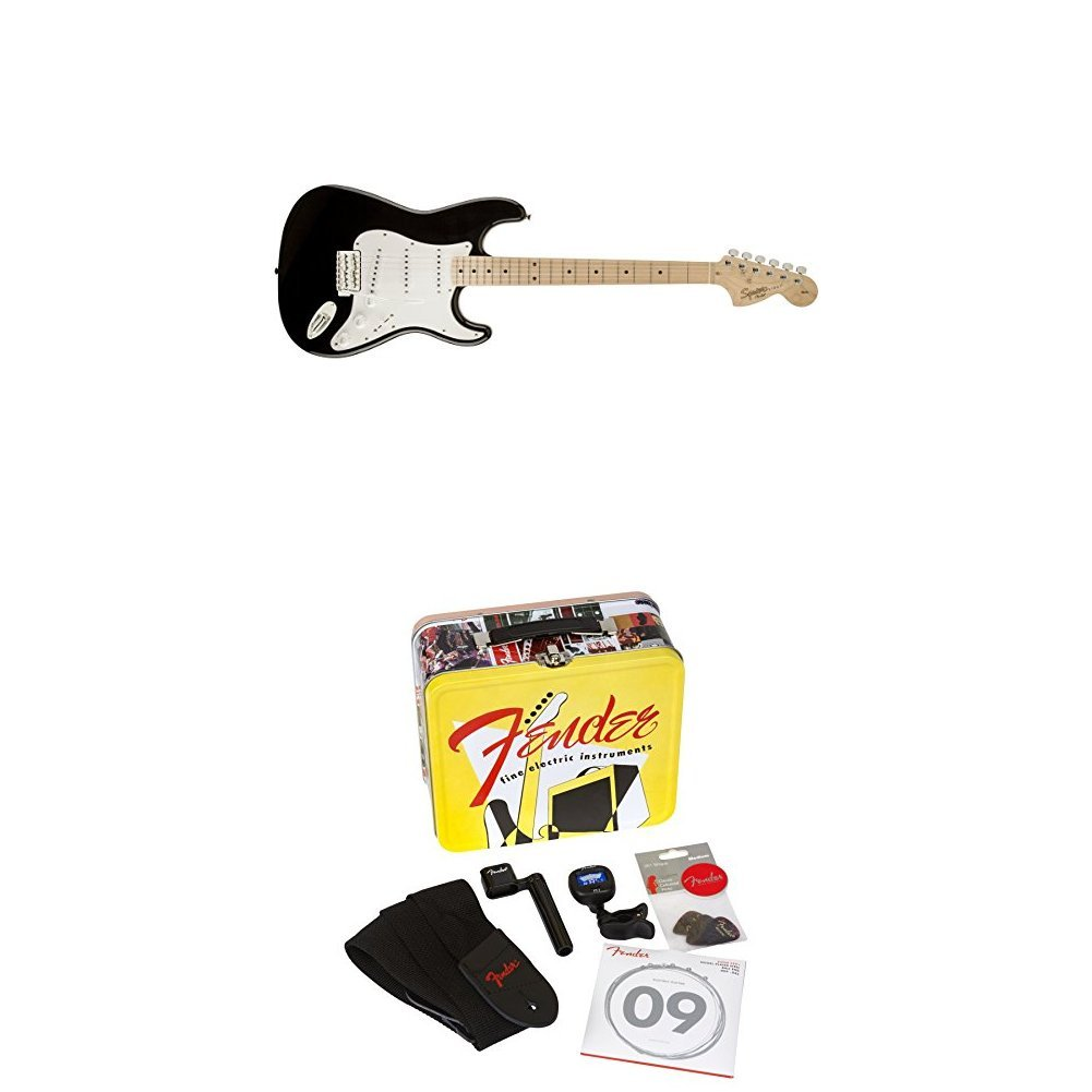 Squier by Fender Affinity Stratocaster Beginner Electric Guitar - 2-Color  Sunburst with Accessories Kit -