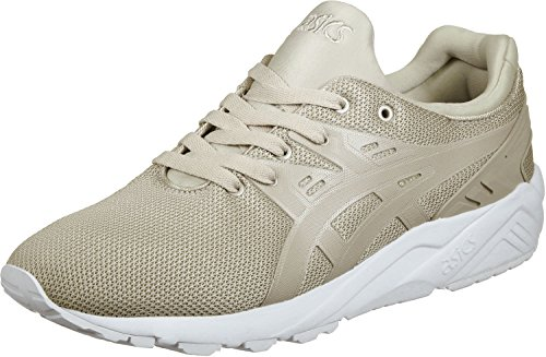 Asics Gel-Kayano Trainer Evo, Zapatillas para Hombre, Bianco Feather Gris
