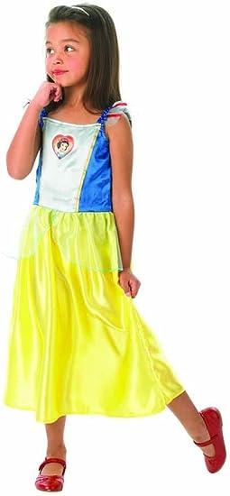 Princesas Disney - Disfraz de Blancanieves para niña, infantil 7-8 ...