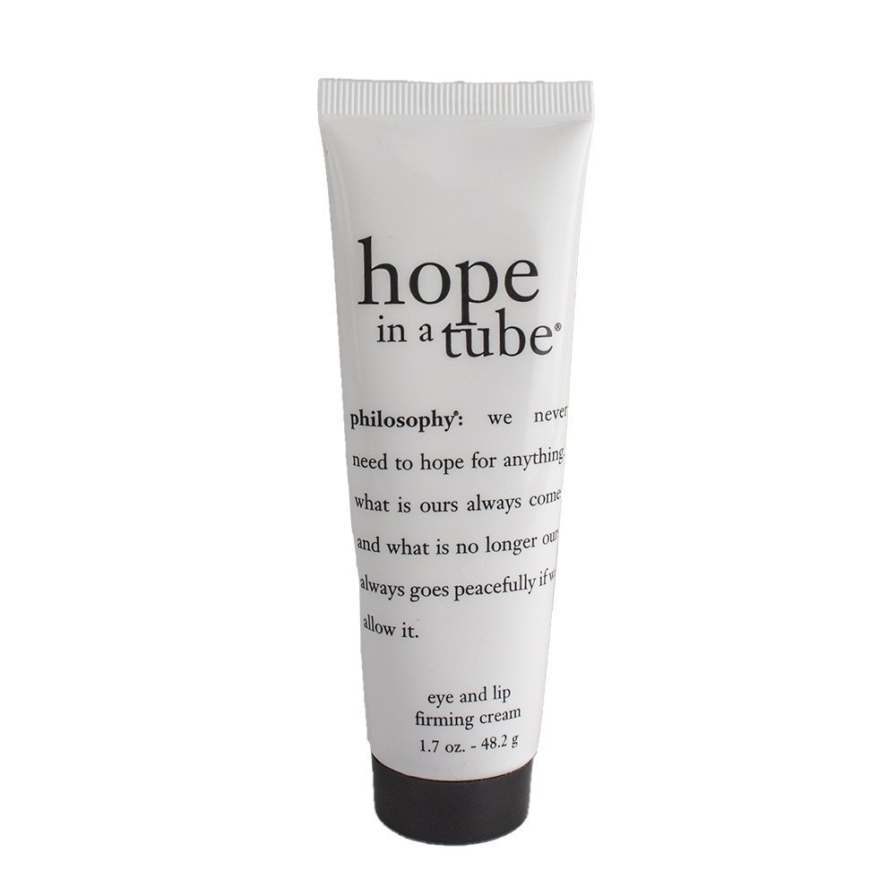 Philosophy Hope in a Tube Eye and Lip Firming Cream Tube, 0.5 Ounce 604079016087