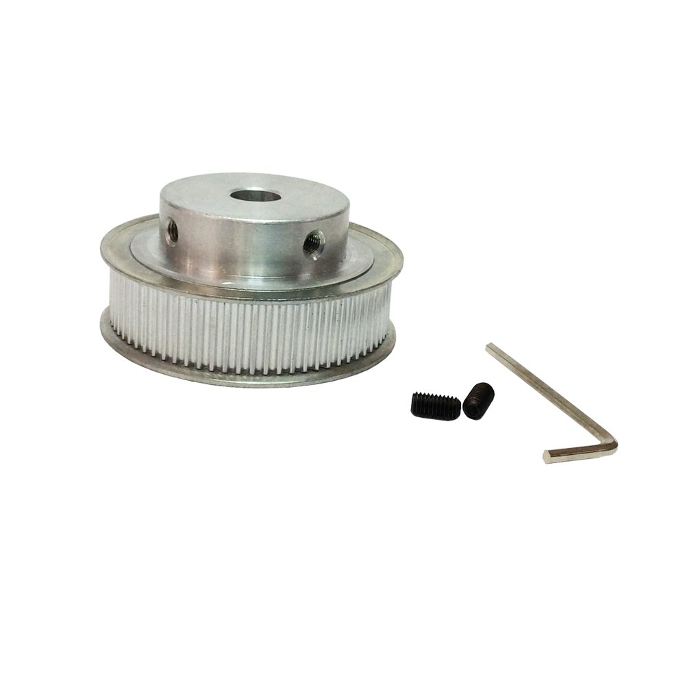 BEMONOC HTD 3M Timing Belt Pulley 72 Tooth 10mm 12mm 14mm Bore for CNC Machines Laser Machine Engraving Machine