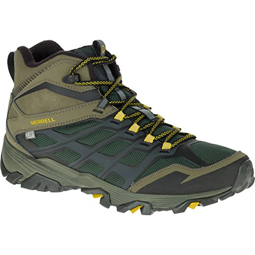 Merrell Moab FST Ice Plus Thermo Hiking Boot - Men's Pine Grove/Olive, - Boot Conductor Mens