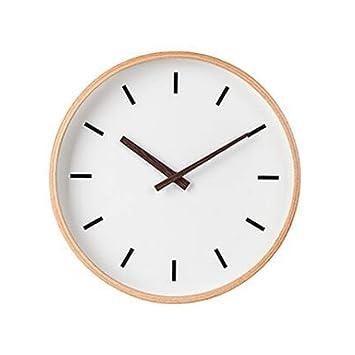 """XJYA Moderno 14"""" De Pilas Silencioso y sin tictac Reloj de Pared Silencioso Digital Barrer"""