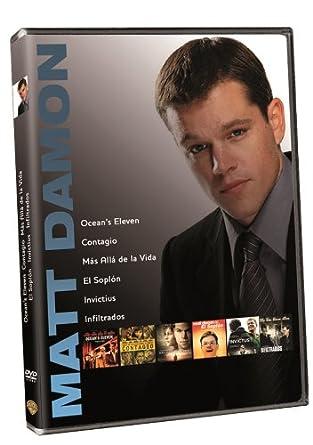Pack: Contagio + Más Allá De La Vida + El Soplón + Invictus + Infiltrados + Oceans Eleven DVD: Amazon.es: Brad Pitt, George Clooney, Gwyneth Paltrow, Leonardo DiCaprio, Matt Damon, Morgan Freeman,