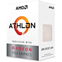 AMD Athlon 3000G Processor with Radeon Vega 3 Graphics (2C/4T, 3.5GHz base clock)