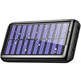 Solar Charger BERNET 24000mAh Ultra High Capacity Portable Solar Power Bank with USB