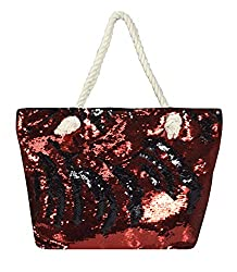 Large Dazzling Sequin Handbag