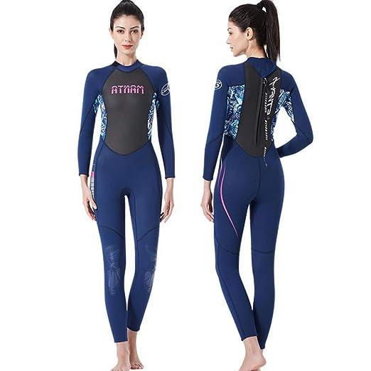 YLZN Mujer Trajes de Neopreno de Full Body Surf-Suit Traje de ...