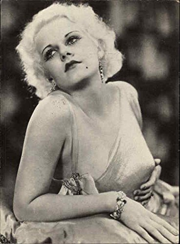 jean-harlow-actresses-original-vintage-postcard
