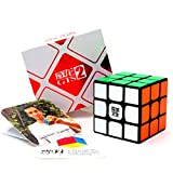 (US) CuberSpeed MoYu WeiLong GTS2 Black 3x3 Magic cube MoYu WeiLong GTS V2 3x3x3 Speed cube Puzzle