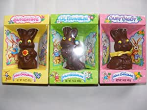Palmer Hollow Milk Chocolate Easter Bunny Assortment - Pack of 3