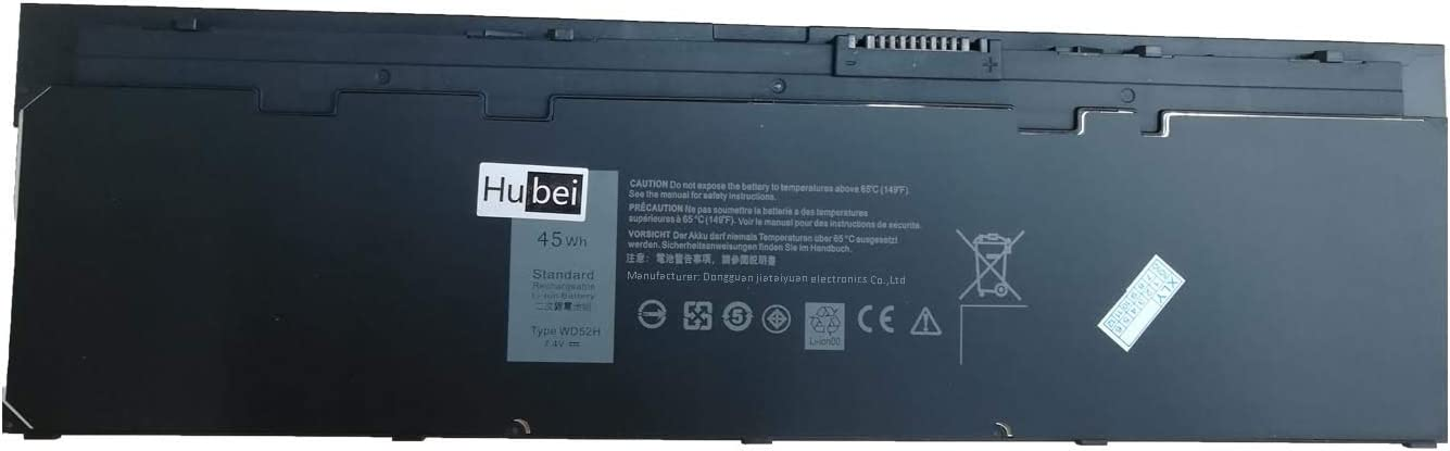 WD52H VFV59 Laptop Battery Replacement for Dell Latitude E7240 E7250 Ultrabook Notebook F3G33 KWFFN J31N7 451-BBFW 451-BBFT 451-BBFX 451-BBFY GD076 GVD76 HJ8KP NCVF0 F3G33 W57CV J31N7(7.4V 45Wh)