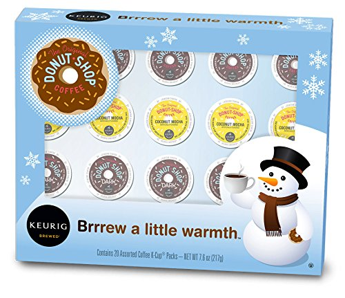Keurig, The Original Donut Shop, Holiday Variety Pack, K-Cup packs, 20 Count