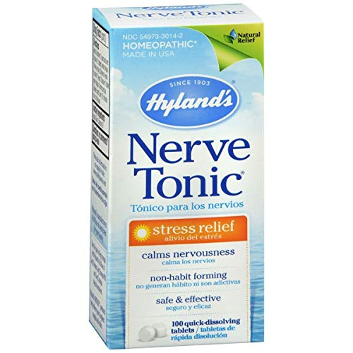 Wholesale Hylands Nerve Tonic - 100 Tablets, [Health & Beauty, Homeopathic Remedies]