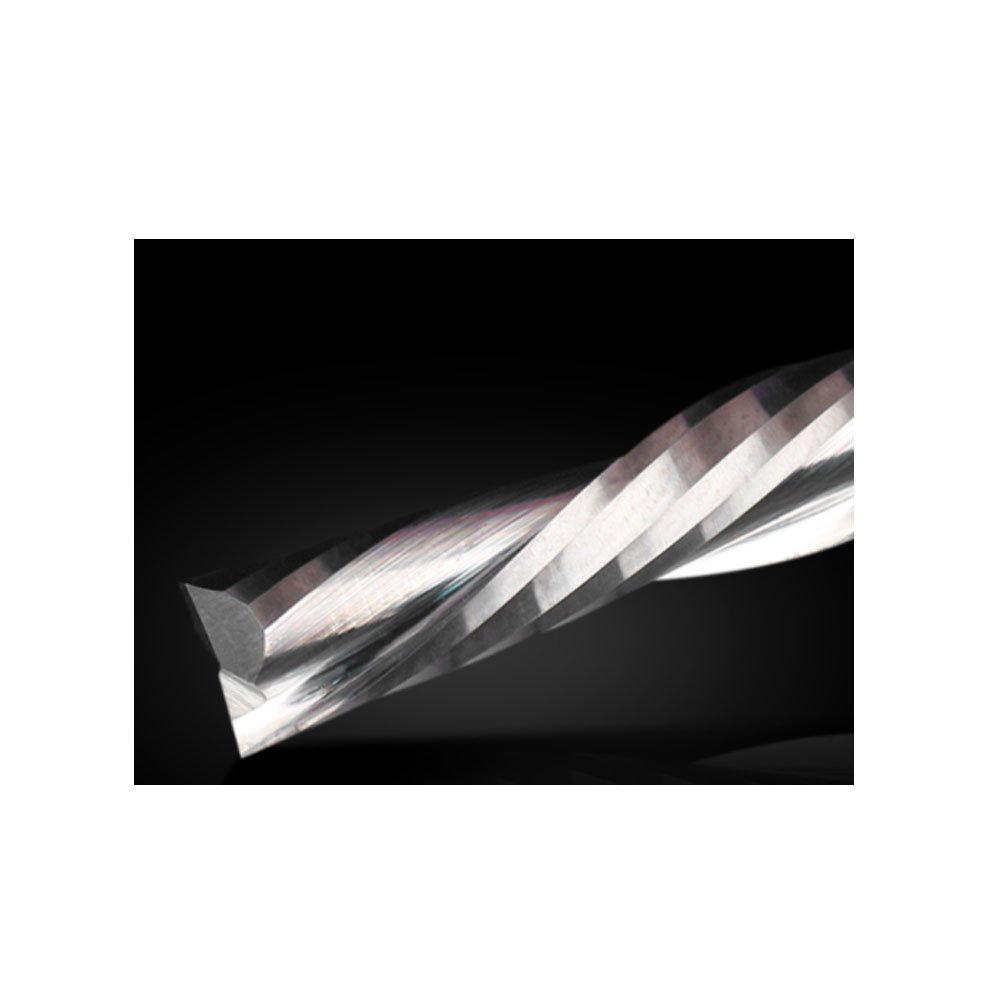 JERRAY 2 Flutes Router Bits with Down Cut HRC55 Spiral Bit Solid Carbide 1//4 Shank Diameter and 1 Cutting Length Down end Mills JERRAY TOOLS