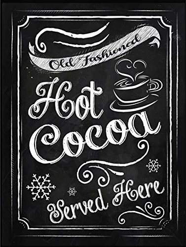 - Hot Cocoa Metal Sign, Winter, Holiday, Christmas, Kitchen Decor