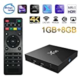 Sawpy X96 Android TV Box 1GB +8GB Android 7.1 DDR3 4K Smart TV Box 64bit Quad Core CPU