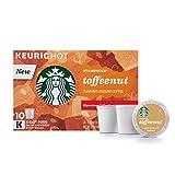 k cup coffee toffee - Starbucks Toffeenut Flavored Medium Roast Single Serve Coffee for Keurig Brewers, 6 Boxes of 10 (60 Total K-Cup pods)
