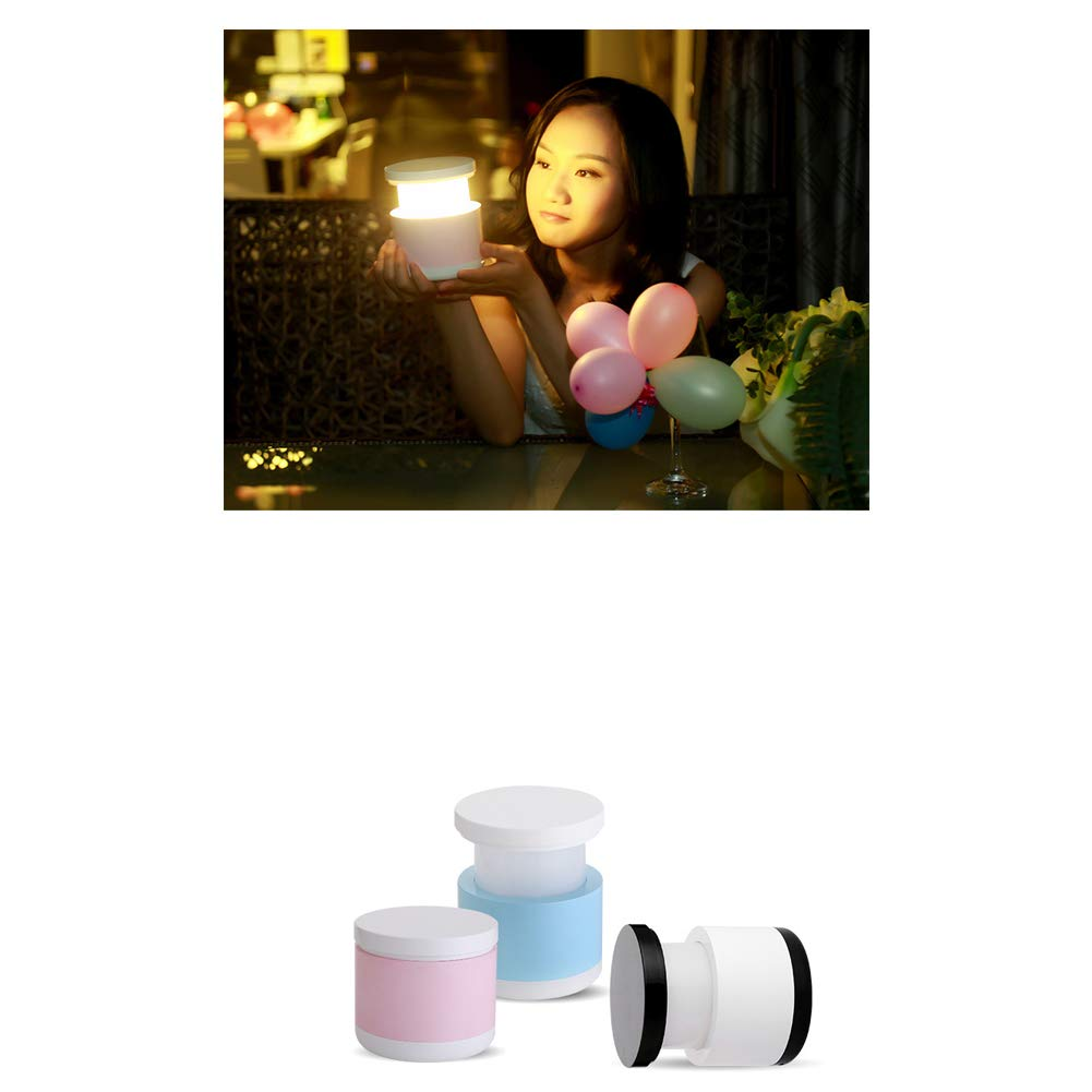 led Home Table lamp Feeding Table lamp USB Mini Table lamp Night Light,-Black Night Table lamp Charging Night Light