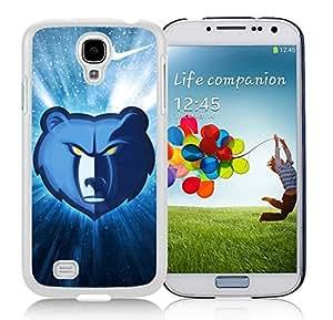 New Custom Design Cover Case For Samsung Galaxy S4 I9500 i337 M919 i545 r970 l720 Memphis Grizzlies 1 White Phone Case wangjiang maoyi