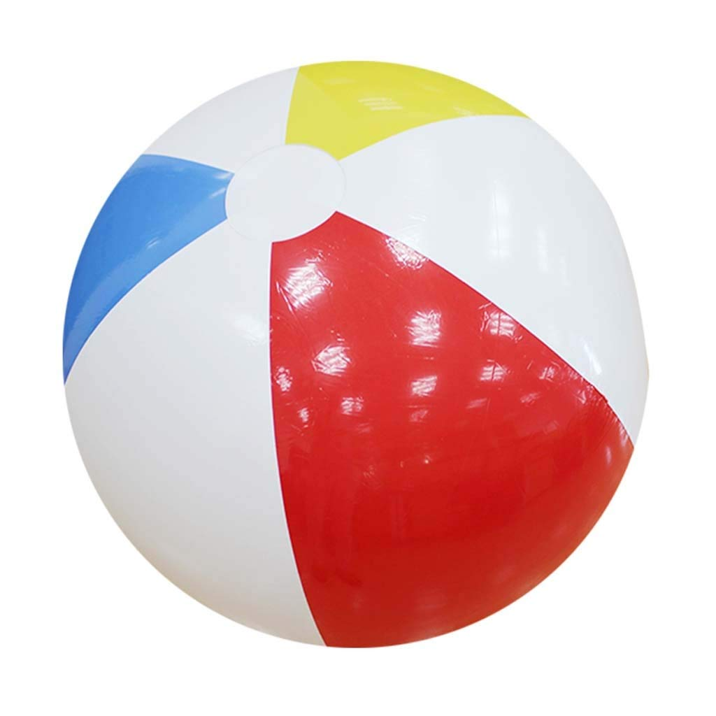 Giant Inflatable Beach Ball Thickened PVC Water Football Outdoor Party Kids Toys 107CM by Mysida Inflatable Pool float