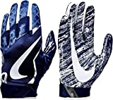 Nike Mens Vapor Jet Football Glove Navy Medium