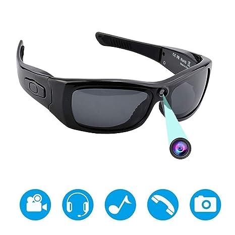 Gafas De Sol con Cámara Bluetooth, Cámara con Grabadora De ...