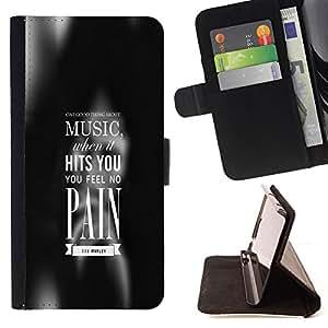 /Skull Market/ - MUSIC HITS YOU For Samsung Galaxy A3 - Caja de la carpeta del tir???¡¯???€????€???????????&AEl