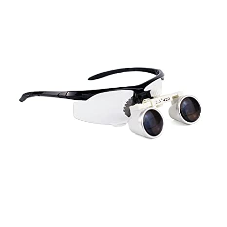 Amazon.com: NSKI - Lupa Binocular Dental de 2,5 x para lupa ...