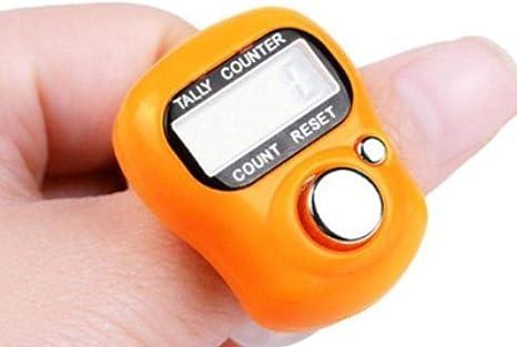 200 pcs LCD DIGITAL RING FINGER TALLY COUNTER TASBEH