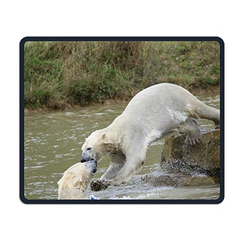 Gaming Mouse Pad Mouse Mat Fierce Polar Bear Gaming Mousepad - 7.1